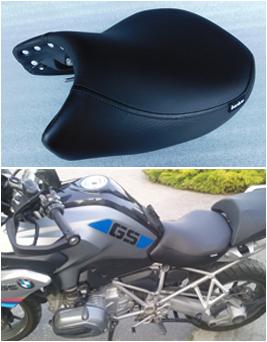 sitzumbau für motorrad